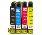 220 Series Premium Compatible Inkjet Cartridge Set For Epson Printers 1