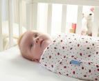The Gro Company 0-3 Months Gro-Swaddle - Ladybird Spot 2