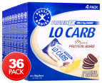 9 x Aussie Bodies Lo Carb Protein Mini Bars Cookies & Cream 4pk  1