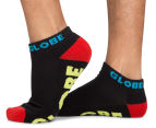 Globe Men's Size 7-11 Destroyer Ankle Sport Socks 5-Pack - Assorted 2