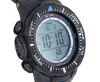 Casio PRO TREK PRG-300-1A2DR 47mm Triple Sensor Version 3 Watch - Black/Blue 2