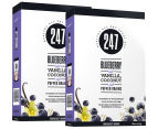 2 x 247 Blueberry, Vanilla & Coconut Breakfast Grains 400g 1