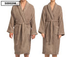 Renee Taylor Egyptian Cotton Bathrobe - Mocha 1