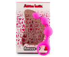 Adrien Lastic Amuse-G Triball Anal Beads - Magenta 2