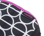 Thermos Raya Premium Can Cooler Bag - Black/White/Purple 6