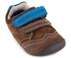 Clarks Toddler Tiny Jet Shoe - Brown/Blue 3