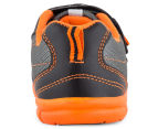 Clarks Kids' Hayden Shoe - Black/Orange 4