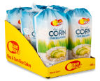 6 x SunRice Rice & Corn Thin Rice Cakes 150g 1