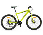 "Progear Surge MTB Men's 17"" / 43cm Bike - High Vis Green 1"