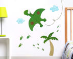Pterodactyl & Palm Tree Decal/Sticker 1