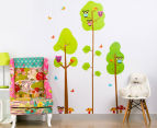 Three Trees & Little Owls Wall Decal/Sticker 1