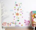 Puppy, Kitten & Flowers Wall Decals 1