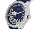 GUESS Women's 38mm Time To Give Watch - Blue 3