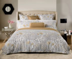 Sheridan Flourish King Bed Standard Quilt Cover Set & Fitted Sheet - Sand 2