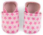 Clarks Baby Sleep Leather Shoe - Pink Leather 1