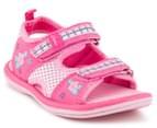Clarks Kids' Feisty II Sandal - Pink/Multi 2