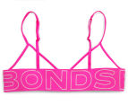 Bonds Girls' Wideband Crop - Stripe 67 2