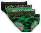 Bonds Boys' Brief 4-Pack - Print 11 1