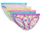 Bonds Girls' Bikini 4-Pack - Print 14 1