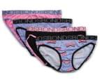 Bonds Girls' Bikini 4-Pack - Print 27 1
