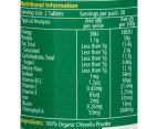 Nature's Way SuperFoods Chlorella 1000mg 60 Tabs 2