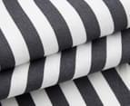 Sheridan Canaan 51x76cm 4-Pack Tea Towel Set - Charcoal 3