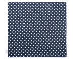 Sheridan Westridge 50x50cm Napkins 4-Pack - Navy 6