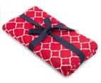 Sheridan Branford 51x76cm 4-Pack Tea Towel Set - Poppy 2