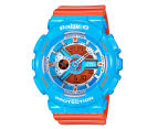 Casio Baby-G Women's 43mm BA-110NC-2A Watch - Blue/Orange 1