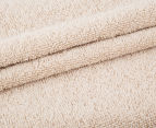 Luxury Living 80x160cm Bath Sheet 2-Pack - Linen 3