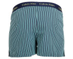Calvin Klein Men's Slim Fit Boxer - Navy/Dark Green 2