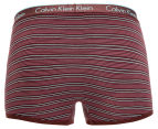 Calvin Klein One Men's Cotton Trunk - Burgundy 2