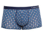 Calvin Klein One Men's Low Rise Trunk - Geo Star 1