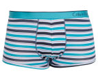 Calvin Klein One Men's Low Rise Trunk - Watson Stripe 1
