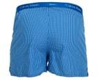 Calvin Klein Men's Slim Fit Boxers 2-Pack - Blue 2