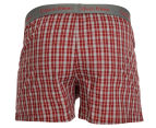 Calvin Klein Men's Slim Fit Boxers 2-Pack - Red 3