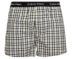 Calvin Klein Men's Classic Fit Boxer - Jett Plaid/Black 1