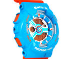 Casio Baby-G Women's 43mm BA-110NC-2A Watch - Blue/Orange 2