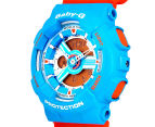 Casio Baby-G Women's 43mm BA-110NC-2A Watch - Blue/Orange 3