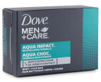 Dove Men's Aqua Impact Soap 4pk 2