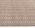 Scandi Floors Artisan Wool 225x155cm Rug - Grey 3