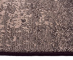 Hot Dash Gradient 230x160cm Jute Rug - Black 3