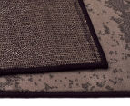 Hot Dash Gradient 230x160cm Jute Rug - Black 5
