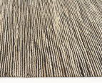Scandi Floors Artisan Hemp 320x230cm Rug - Black 3
