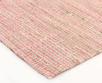 Scandi Floors Artisan Hemp 255x155cm Rug - Pink 2