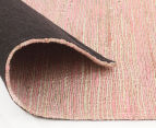Scandi Floors Artisan Hemp 255x155cm Rug - Pink 4