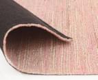 Scandi Floors Artisan Hemp 280x190cm Rug - Pink 4