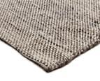 Handwoven Wool & Jute Flatweave 225x155cm Rug - Natural 2