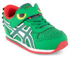 ASICS Toddler Animal Pack Croc Shoe - Green/Red 2