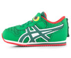 ASICS Toddler Animal Pack Croc Shoe - Green/Red 3